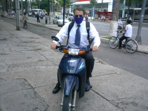 The Morning Commute in Ho Chi Minh City